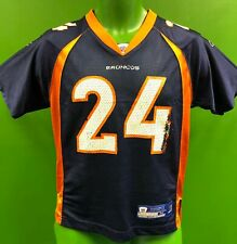J781/195 NFL Denver Broncos Champ Bailey #24 Reebok Jersey Youth Medium 10-12