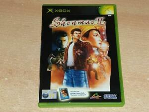 Shenmue II 2 Xbox Game UK PAL Complete with Movie disc **FREE UK POSTAGE**