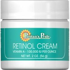 Puritans Pride Retinol Cream Vitamin a 100 000 IU per Ounce 59ml