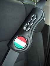 Gurtschoner Sicherheitsgurt Polster Auto PKW Gurt - Fiat 500 Abarth  - 2 Stk ,