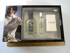 3 PCS/GIFT SET: CANOE  MEN'S EDT 60 ML/2 OZ+SOAP 2 OZ/57 G + COLOGNE 15ML/0.5 OZ