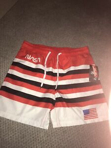 Chemistry NASA UPF 50 Men's Swim Board Shorts NWT Size Medium