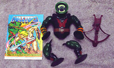 Masters of the Universe MOTU Leech by Mattel Parts with Comic
