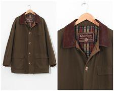 90s Vintage Mens MARLBORO Classics Coat Jacket Khaki Brown Size 2XL