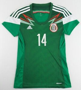 Authentic Adidas 2013 Mexico National Team ChicharitoSoccer Jersey SizeWomen's M