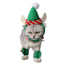 4xPet Cat Christmas Costume Pet Cat Apparel Outfit Dress-up for Puppy Kitten