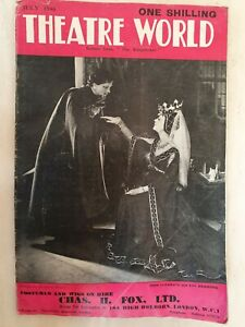 THEATRE WORLD JULY 1946 THE KING FISHER