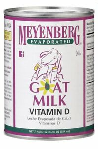 12 Cans Goat Milk Evaporated 12 Fl Oz