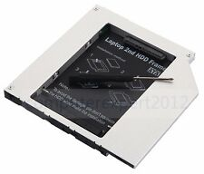 Universal 2nd HDD SSD Hard Drive caddy Adapter for 9.5mm IDE CD DVD-ROM BR ODD
