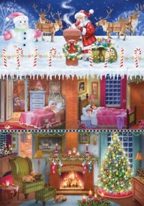 Vermont Christmas Company Advent Calendar, Up on the Rooftop (BB866)
