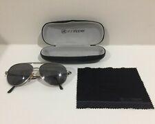 Von Zipper FERNSTEIN Metal Aviator Sunglasses with Grey Chrome Gradient Lens