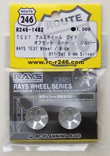 Kyosho Mini Z R246-1482 RAYS TE37 Aluminum Wheel Wide / Silver (Offset 0mm)