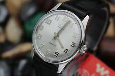 Vintage *NOS* WYLER Incaflex Dynawind Automatic Stainless Steel Men's Watch