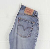 Vintage LEVI'S 525 89 Bootcut Fit Women's Blue Jeans W27 L32