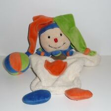 Doudou Clown Arlequin Doudou et Compagnie
