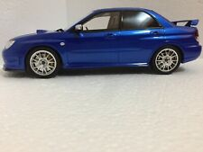 1/18 SUBARU  IN BLUE  OTTO LIMITED EDITION OF 1500
