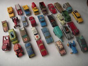 JOB LOT OF VINTAGE HUSKY CARS / VEHICLES