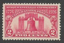 US Scott #627 Mint OG NH XF-SUP Sesquicentennial Issue