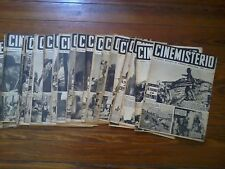 1951 HUGO PRATT Argentina Cinemisterio lot of 37 mags #20-56 Spanish Rare VGCond