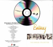 BRITNEY SPEARS The Singles Collection 2009 UK 18-track promo test CD