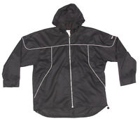 NEW BALANCE Wind Breaker Jacket Men's XL Black Running Golf Full Zip
