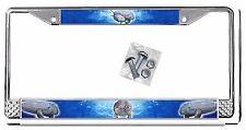 Manatees Sea Cows Auto License Plate Frame Gift Metal Ocean Mammals