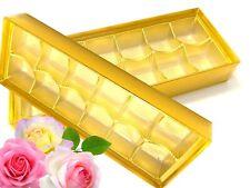 Pralinenschachtel Vide pour 12 Chocolats Konfekt Emballage Pralinenschachtel