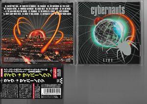 Cybernauts Live (Japanese CD 2000) Def Leppard, Bowie, Spiders, Woodmansey