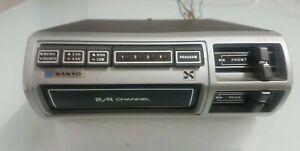 Autoradio Vintage Sanyo Stereo 8 FT862 (RARISSIMA)