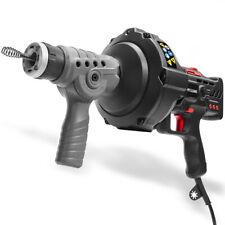 25ft Handheld Drainer Plumbing Dredger Cleaner Drain Snake Auger Unclog Portable
