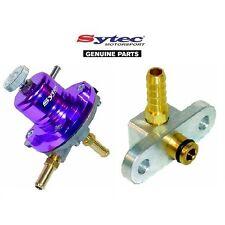 SYTEC SAR FUEL PRESSURE REGULATOR PURPLE + FUEL RAIL ADAPTOR - MAZDA 323F / GTR