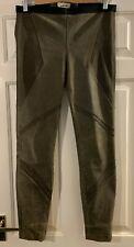 Helmut Lang brown lamb leather legging RRP £999 US8
