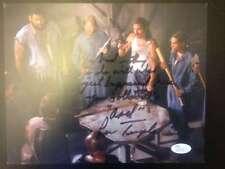 "The Walking Dead ""Axel"" Lew Temple Jail Scene 8x10 Photo Autograph JSA"