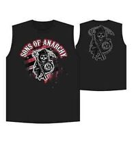 Auténtico 2013! Sons Of Anarchy Rojo Segador Samcro Muscle Motero Soa Camiseta M