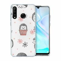 For Huawei P30 LITE Silicone Case Hedgehog Pattern - S2251