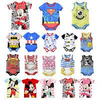 Newborn Kids Baby Boy Girl Jumpsuit One Piece Romper Bodysuit Loungewear Outfits