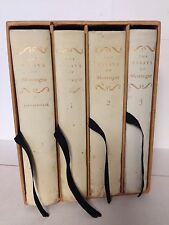 The Essays of Michel de Montaigne Limited Editions Club 1946 #384 Signed w/Lt