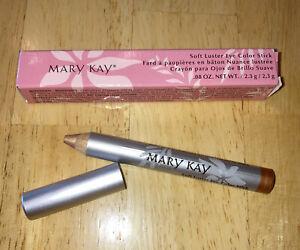 Mary Kay Soft Luster Eye Color Stick Copper Glaze Pencil Eyeshadow NIB
