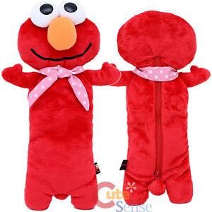Sesame Street Elmo Plush Doll Pencil Case Baby Elmo Pouch Bag
