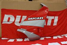 Semicarena Dx rojo/ Plata Nueva Original Ducati, Para Ducati Sport 750 S / 89