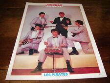 LES PIRATES - Mini poster couleurs !!!! !!!!!!!!! JUKEBOX !!!!!!!!!!!!