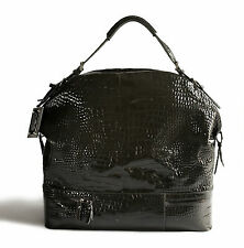 Dolce   Gabbana Patent Leather Moc Croc  Miss Bunny  Weekendbag 2302b3c1be052