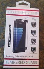 NIB! Nitro Glass Tempered Glass Screen Protector - Samsung Galaxy Note 7/ BLACK