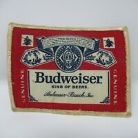 "Vintage Patch - Budweiser - King Of Beers - 4"" - Beer Label Style - Collectible"