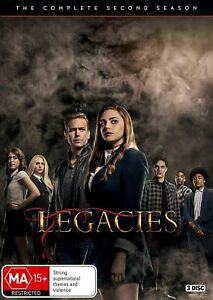 LEGACIES Season 2 (Region 2 UK Compatible) DVD The Complete Series Two