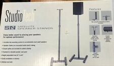 2 Studio Tech Speaker Stands for Surround Speakers High Quality