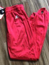 ADIDAS MEN'S GYMNASTICS RED Pants Competition Gymnastics Stirrup SMALL NEW