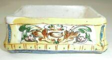 Raro Antico vaso ceramica maiolica dipinta Marcata
