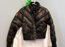 Triple Fat Goose Women XL Jacket Coat Puffer Down Bomber Winter Black F.A.T.