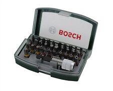 BOSCH Ensemble de bits lot 32 pièces avec verriegelbarem Support porte-embouts